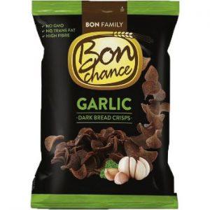 Maizes čipsi Bon Chance rudzu ar ķiploku garšu 120g