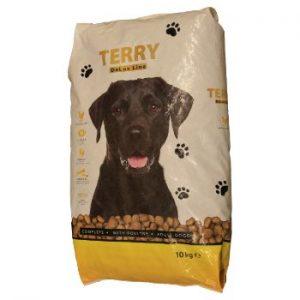 Barība suņiem Terry De Lux mājputnu 10kg