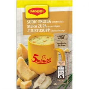 Zupa Maggi siera ar grauzdiņiem 19g