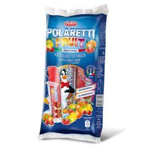 Saldējums Dolfin Polareti Fruit mix 40ml*10/400g