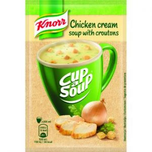 Krēmzupa Knorr CAS vistas ar grauzdiņiem 16g