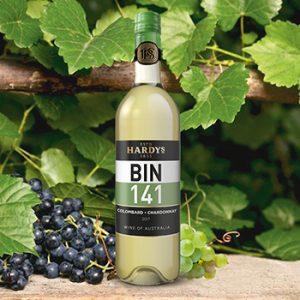 Vīns Hardys Bin141 Colombard Chardonnay 12