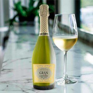 Dzirkstošais vīns Gran Castillo Viura Chard. b. 11% 0.75