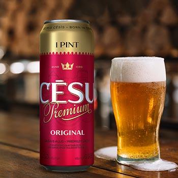 Alus Cēsu Premium Orginal 5.2% 0.568l can