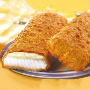 Zivju fileja ar siera mērci