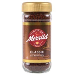 Kafija šķīstošā Merrild Classic 100g